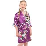 Flower Girl charmeuse Girl Robes (248178697)