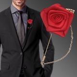 Romantico Raso Fiore all'occhiello (venduto in un unico pezzo) - (123182800)