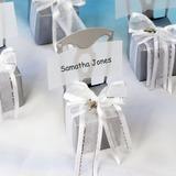 Sedia Design Cubi Carta della carta Scatole di Favore con Nastri (set di 12) (050005517)