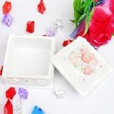 Flores românticas Resina Senhoras' Caixa de Jóias (051040462)