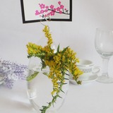 Elegant Glass Place Card Holders (051040125)