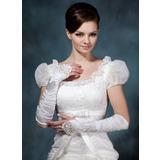 Упругие атласная локоть длина Свадебные перчатки (014020479)