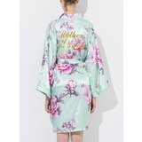 Cotton Mom Floral Robes Glitter Print Robes (248176076)