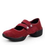 Donna Panno Mesh Sneakers stile moderno Prova Scarpe da ballo (053201965)