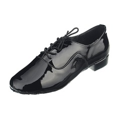 Мужская кожа На каблуках Латино Бальные танцы Практика Обувь для Персонала Обувь для танцев (053053124)