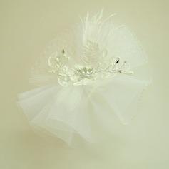 Дамы Красивая горный хрусталь/чистая пряжа/Кружева лоб ювелирные изделия/шляпа с горный хрусталь (042143675)