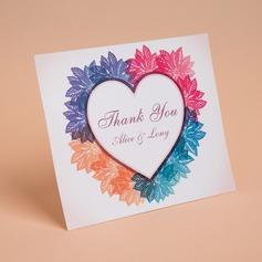 personalisé Style cœur Merci des cartes (Lot de 50) (114059346)
