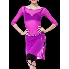 Женщины Одежда для танцев Органза Практика Инвентарь (115086474)