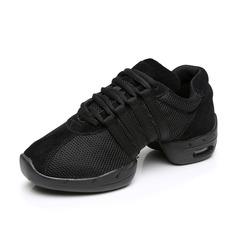 Женщины нубук Танцевальные кроссовки Танцевальные кроссовки Обувь для танцев (053088015)