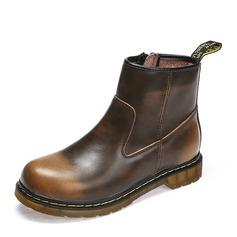 Мужская натуральня кожа Chukka вскользь Men's Boots (261172209)