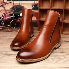 Мужская натуральня кожа Chukka вскользь Men's Boots (261172198)
