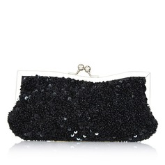 Elegante Espumante Glitter Embreagens (012031265)