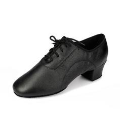 Мужская Натуральня кожа На каблуках На каблуках Практика Обувь для танцев (053058455)