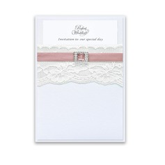 Stile classico Wrap & Pocket Invitation Cards (Set di 10) (118040278)