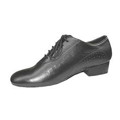 Мужская Натуральня кожа На плокой подошве Бальные танцы Практика Обувь для танцев (053013145)