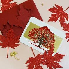 современный стиль/цветочный Стиль Боковой складкой поздравительные открытки/Спасибо карты/Поздравительные открытки (114205168)