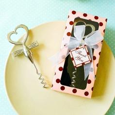 Tuxedo Heart Corkscrew Favor(Sold in a single piece) (052149785)
