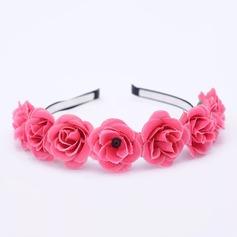 Дамы Красивая шелковые цветы ободки (Продается в виде единой детали) (042212026)