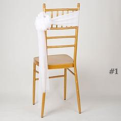 Органза стул ленты створки стул ленты створки (набор из 10) (131211183)
