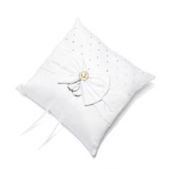 Кольцо подушки в Атлас с лук/Стразы (103018423)