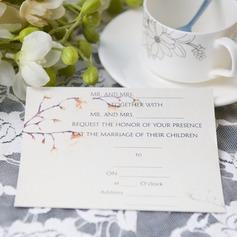 современный стиль Плоская карта Invitation Cards (набор из 50) (114063985)
