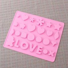любовь дизайна Силикон прессформа торта (051053243)