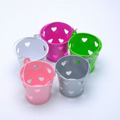 типа сердца Другое Tinplate Горшки и банки для конфет (набор из 12) (050168316)