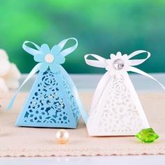 Pirámide Cajas de regalos con Cintas (Juego de 12) (050039024)