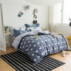 марочный простой прекрасный элегантные хлопок Душ перед сном (4 шт: 1 одеяло 1 кровать 2 наволочки) (203169394)