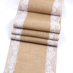 Tafelkleed Linnen (Verkocht in één stuk) Eenvoudig Tafel Middenstuk (128152263)