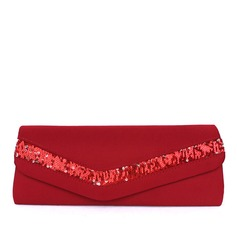 Gorgeous Satin Clutches (012013552)