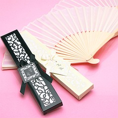 Vintage Style/Elegant Vintage Style Bamboo Hand fan With Ribbons (Sold in a single) (051163658)