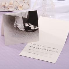 personalisé Style de la mariée et du marié Pli horizontal Cartes de réponses (Lot de 20) (114063915)