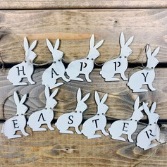 Creative Gifts Creative Easter Rabbit Wooden (set of 11) Non-personalized Gifts (129154554)