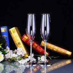 Elegante Brindando flautas com Strass (126141432)