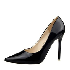 Frauen Lackleder Stöckel Absatz Absatzschuhe Geschlossene Zehe mit Andere Schuhe (085146826)