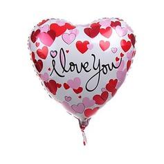 Sydän suunnittelu Alumiinifolio Ilmapallo (131046624)