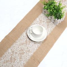 Tafelkleed Linnen (Verkocht in één stuk) Eenvoudig Tafel Middenstuk (128152266)