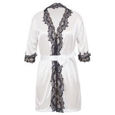 Кружева/вискозного волокна Шарм женственный пижама/Свадебное белье (041062975)