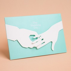 Bride & Groom Enveloppe & Pochette Invitation Cards (Lot de 50) (114058288)
