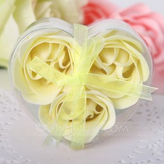 3 Peças Adorável Rosa Sabonetes (051017518)