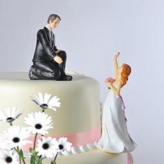 Casal clássico/Engraçados e Relutante Decorações de bolos (122036148)