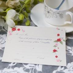 цветочный Стиль Плоская карта Invitation Cards (набор из 50) (114063999)