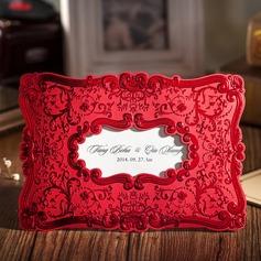personalisé Style Florale Enveloppe & Pochette Invitation Cards (Lot de 50) (114055130)