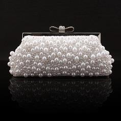Charmen Silke/Pärla med Strass Grepp (012028130)