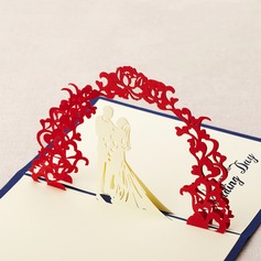 Three-dimensional Sweet Wedding Greeting Cards (114042508)