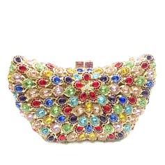 великолепный Кристалл / горный хрусталь/сплав Клатчи/Роскошные сумка (012079769)