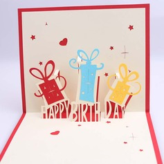 Three-dimensional Happy Birthday Greeting Cards (114059156)