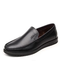 Мужская натуральня кожа Пенни Лоафер вскользь Men's Loafers (260171588)