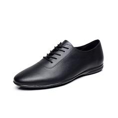 Мужская Натуральня кожа На плокой подошве Танцевальные кроссовки Практика Обувь для танцев (053080771)